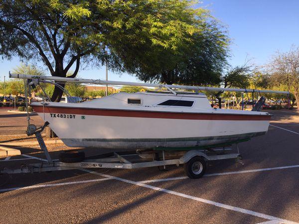 Hunter 20 sailboat