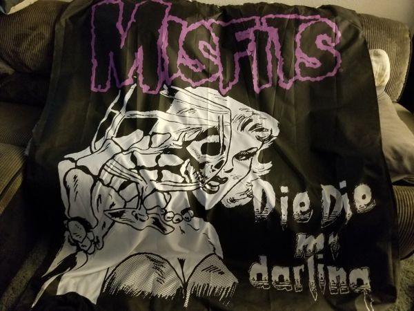 Misfits Die My Darling Shower Curtain For Sale In Upland CA