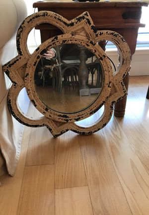 """Pink Rustic Mirror (23"""" x 23"""") for Sale in San Francisco, CA"""