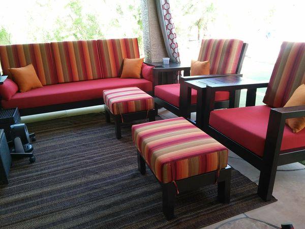Brandon S Custom Iron Design Outdoor Patio Furniture Sofa