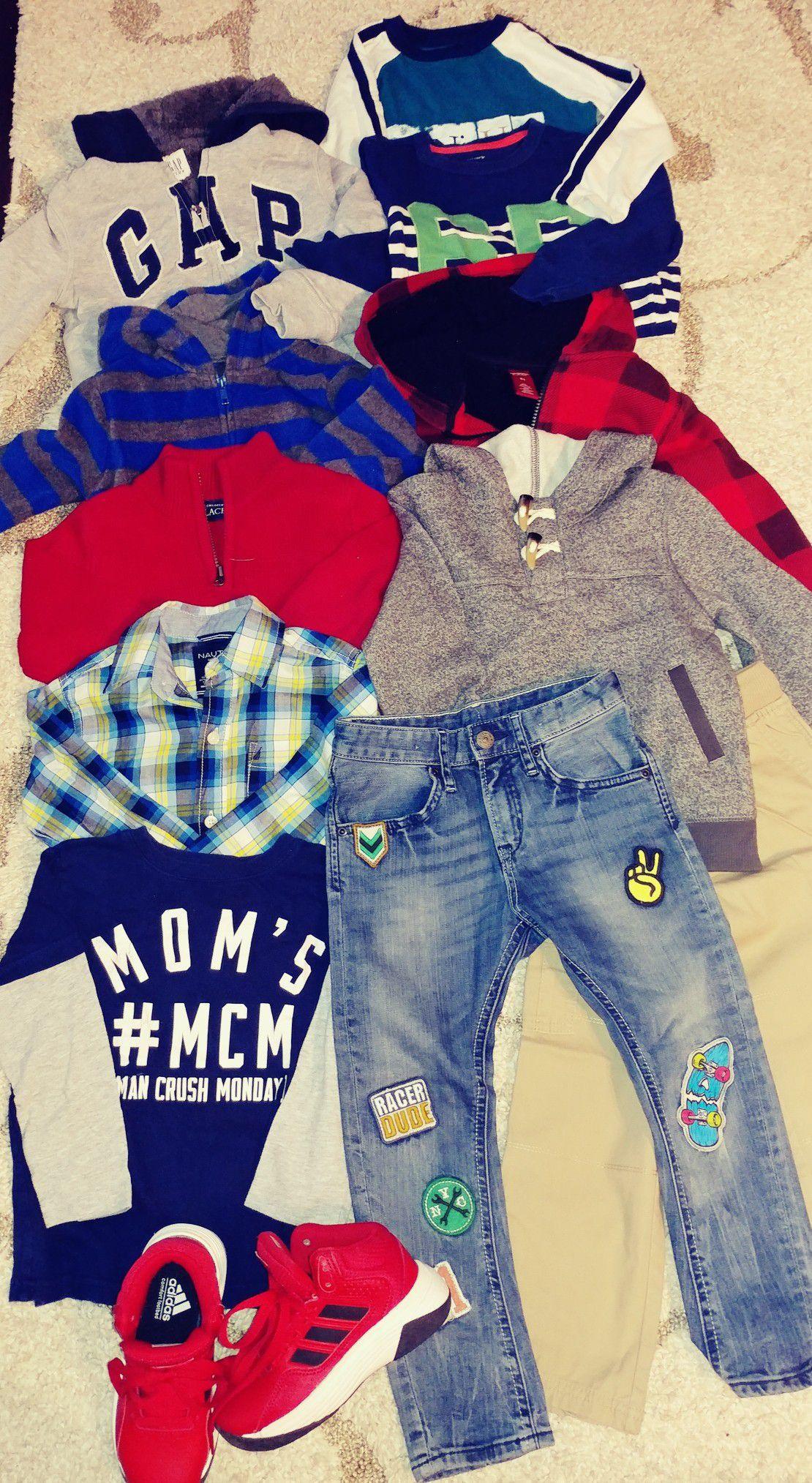 Boy's clothing size 4