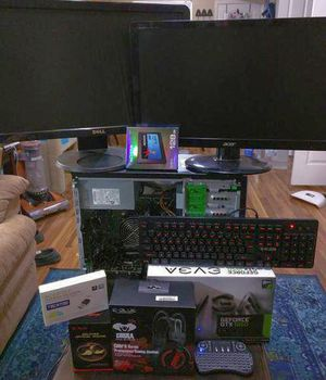 High End i5 RUN ANY GAME GTX 1050 Gaming Bundle for Sale in Salt Lake City, UT