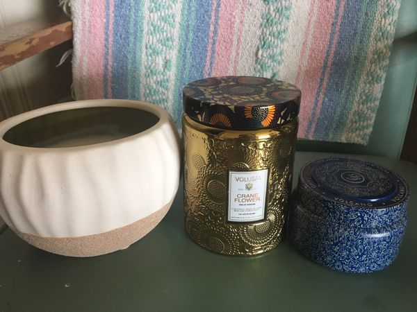 Lot Of Anthropologie Volluspavolcano Candles For Sale In Oklahoma