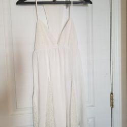 Forever 21 White Intimate Nightdress Thumbnail