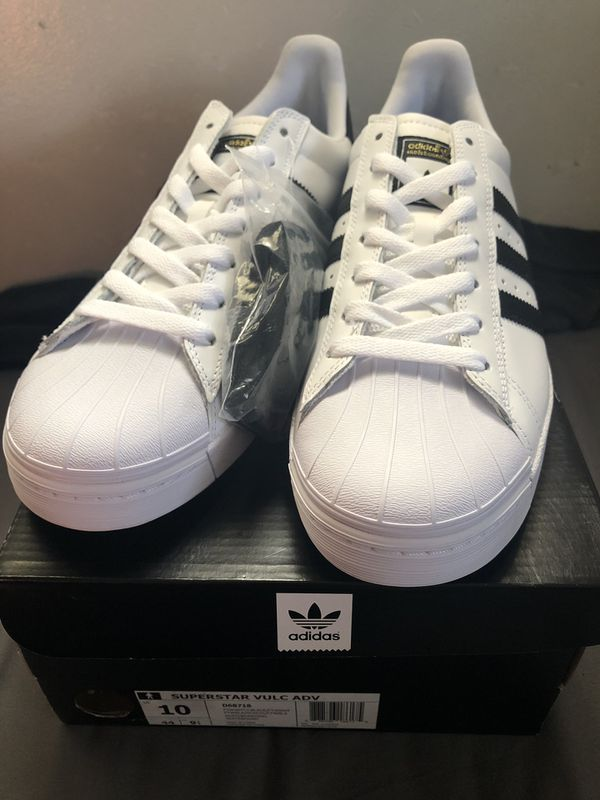 2c63518dafdb Adidas Superstar Vulc Adv men s size 10. (12 in woman) for Sale in ...
