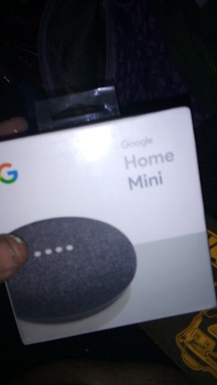 3 Google minis Bluetooth smart home devices 3rd gen