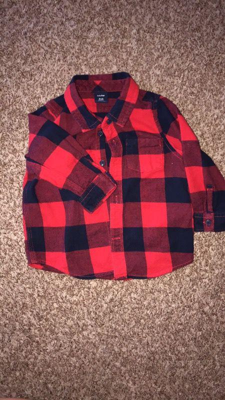 Size 18-24 months flannels