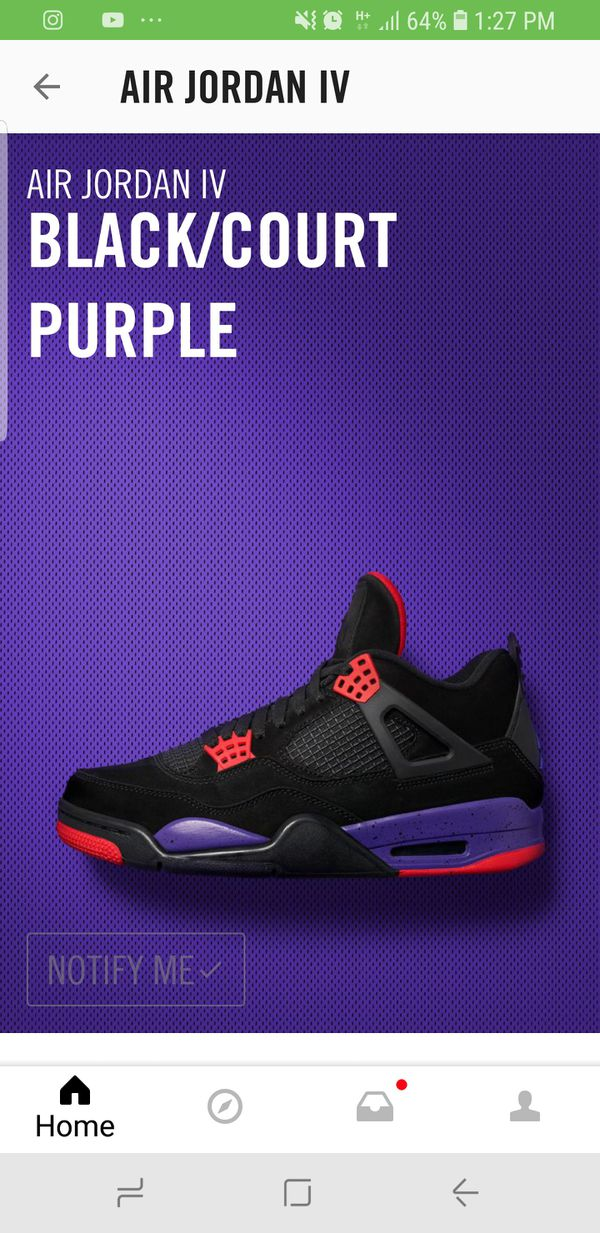 98447a348dd986 Air Jordan 4 Raptors size 13 for Sale in Memphis