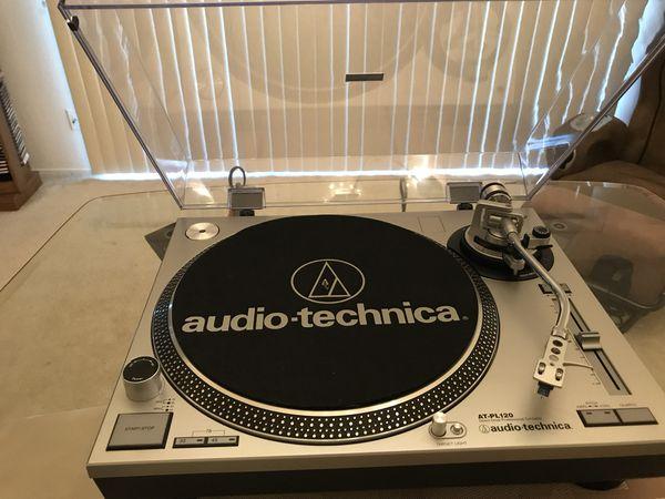 Audio technica at-lp120-usb manual direct-drive professional.