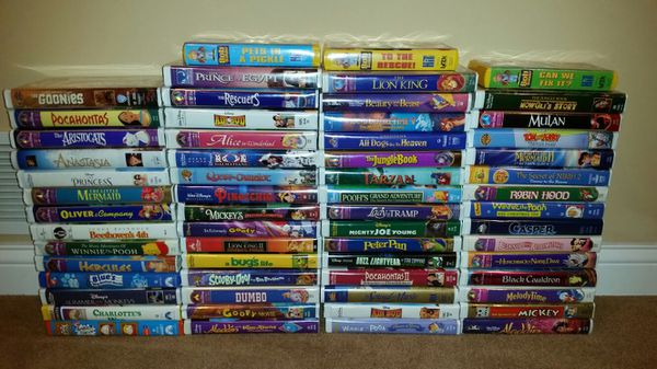 Disney Vhs Movies For Sale In O Fallon Mo Offerup