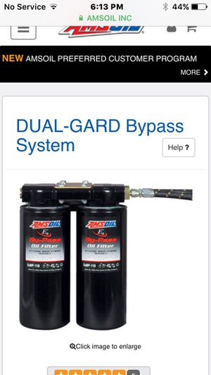 amsoil oil bypass filtration setup keep your oil extra clean for Sale in Kansas City, MO