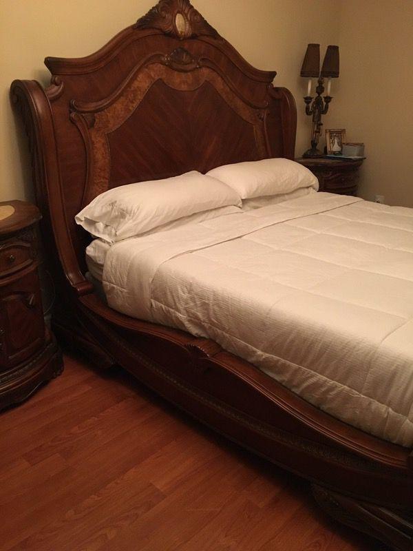 AICO - Michael Amini Cortina King bedroom set for Sale in Miami, FL -  OfferUp