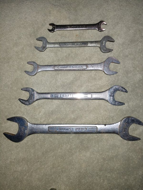 Craftsman Wrench Set Wrenches Sets You Choose Tool Lot Tools Mechanic Machinery In San Go Ca Offerup