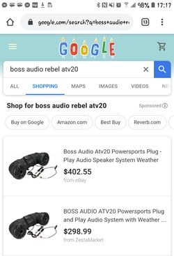 Rebel Power Sports ATV20 Outdoor Sound System by Boss Audio Thumbnail