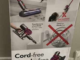 DYSON V7 MOTÖRHEAD VACUUM cord free and hassle free powerful suction Thumbnail