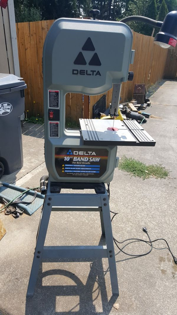 Delta 28 195 10 Quot Band Saw With Stand For Sale In Spanaway