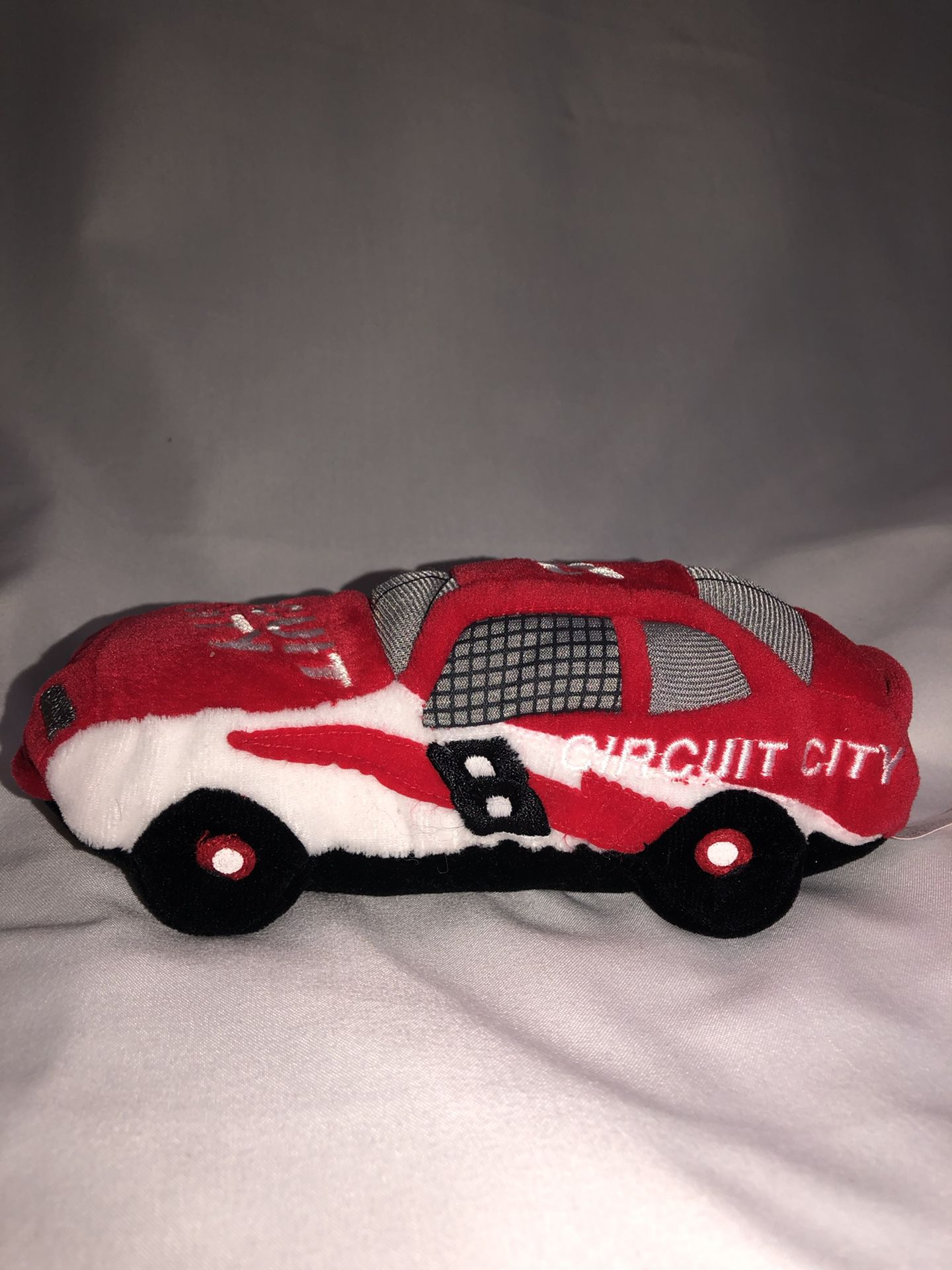 NASCAR beanie racer CIRCUIT CITY #8 Hut Stricklin