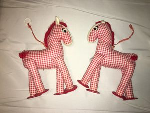 Vintage 1950s knickerbocker horse toys for Sale in Austin, TX
