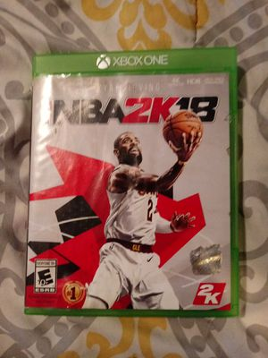2k18 xbox one for Sale in Washington, DC