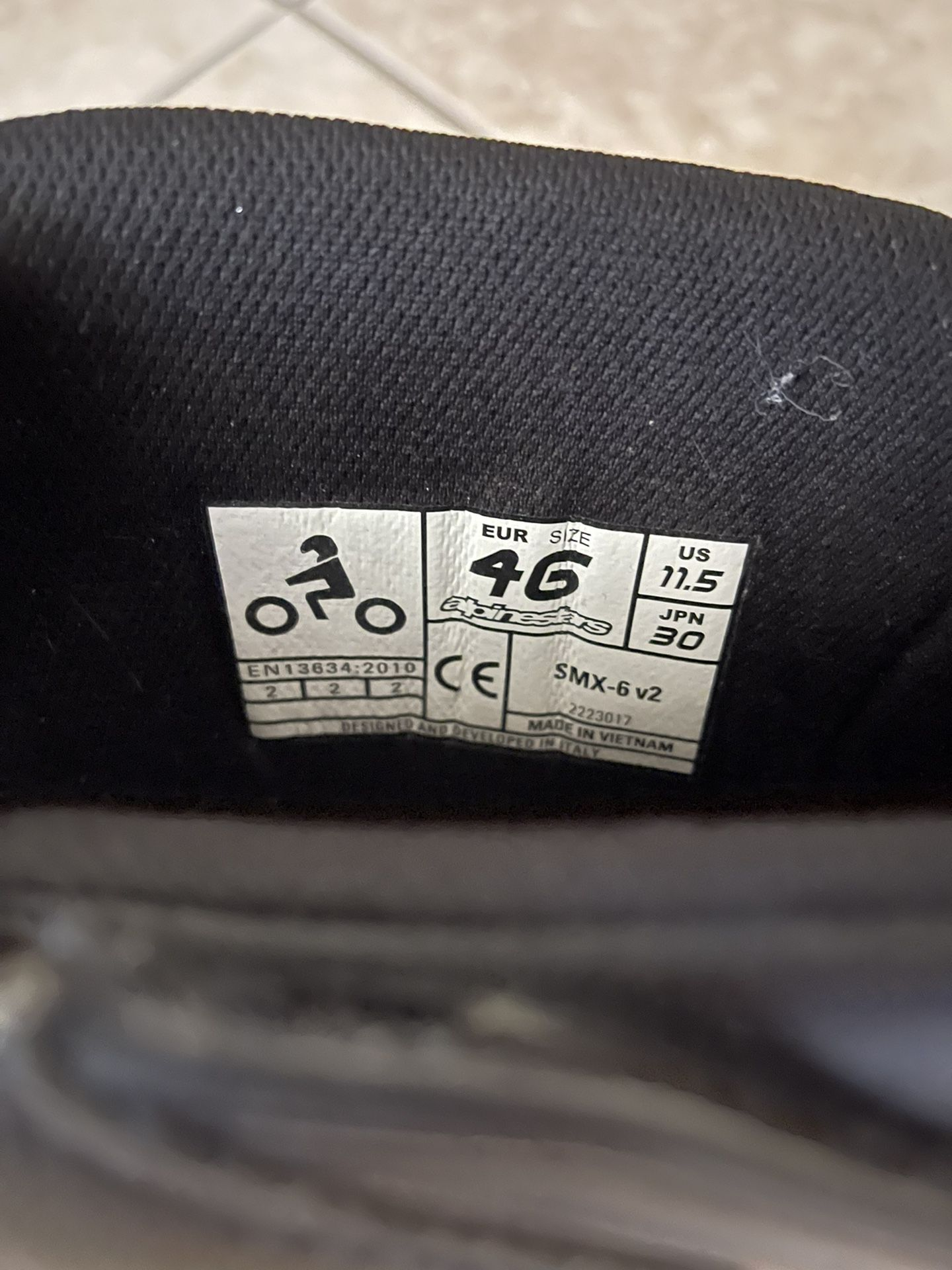Alpine star SMX-6 V2 Motorcycle boots