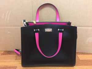Kate Spade Arbour Hill Kyra Handbag Black Leather Purse for Sale in Falls Church, VA