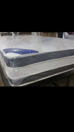 King Double Sided Pillow Top Mattress With Splits Box spring we have all sizes available (?Hablo Español) for Sale in Herndon, VA