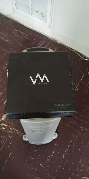 VM AUDIO 2/1 amplifier 1000 watts for Sale in Silver Spring, MD