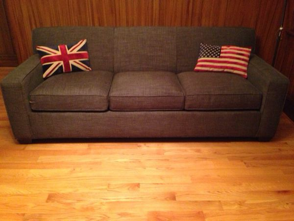 1200sold - Crate And Barrel Sleeper Sofa