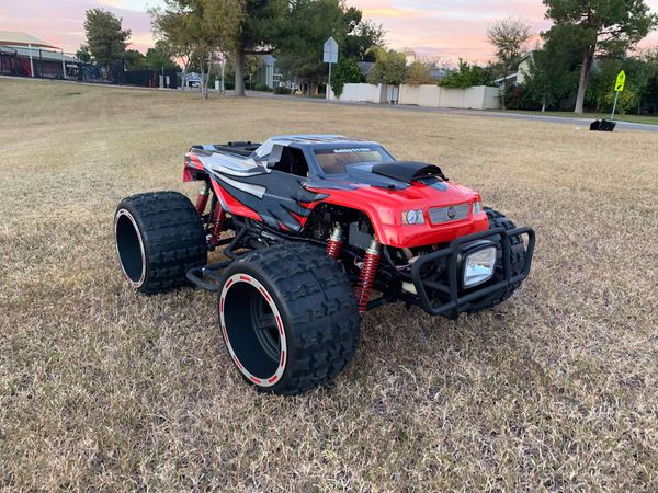 1 3 Scale Rc Monster Truck Honda 4 Stroke Rtr For Sale In Peoria Az
