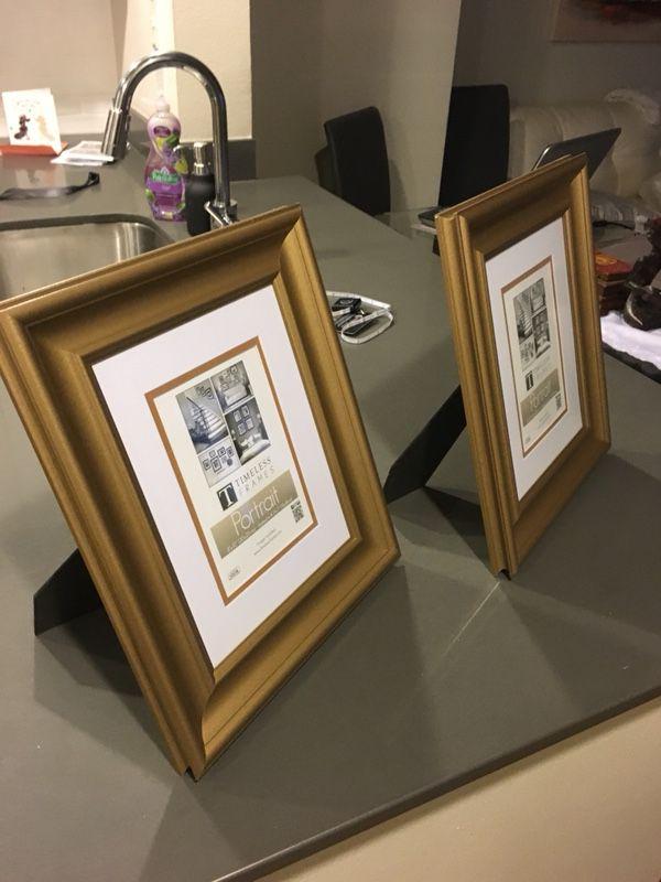 Brand new golden classic-border picture frames (Home & Garden) in ...