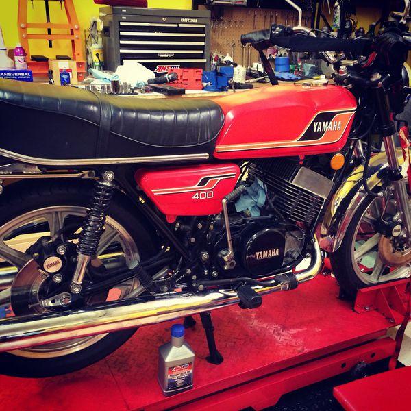 Vintage 1977 Yamaha RD400 for Sale in Nashville, TN - OfferUp