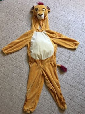Disney Kion Lion Guard Costume 4T/5T (Halloween Costume) for Sale in Los Angeles, CA