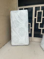 Mattresses: twin, full , queen regular , plush or pillow top available