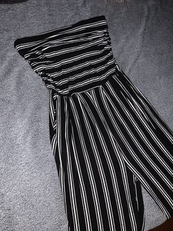 Strapless Jumpsuit Size Small Thumbnail