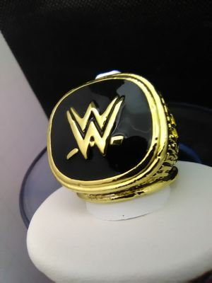 Photo WWE Wrestling Hall of Fame Ring Size 10.5
