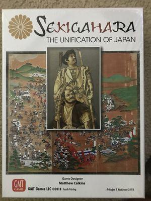 Board Game , Sekigahara for Sale in Arlington, VA
