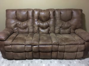 Reclining sofa for Sale in Fairfax, VA