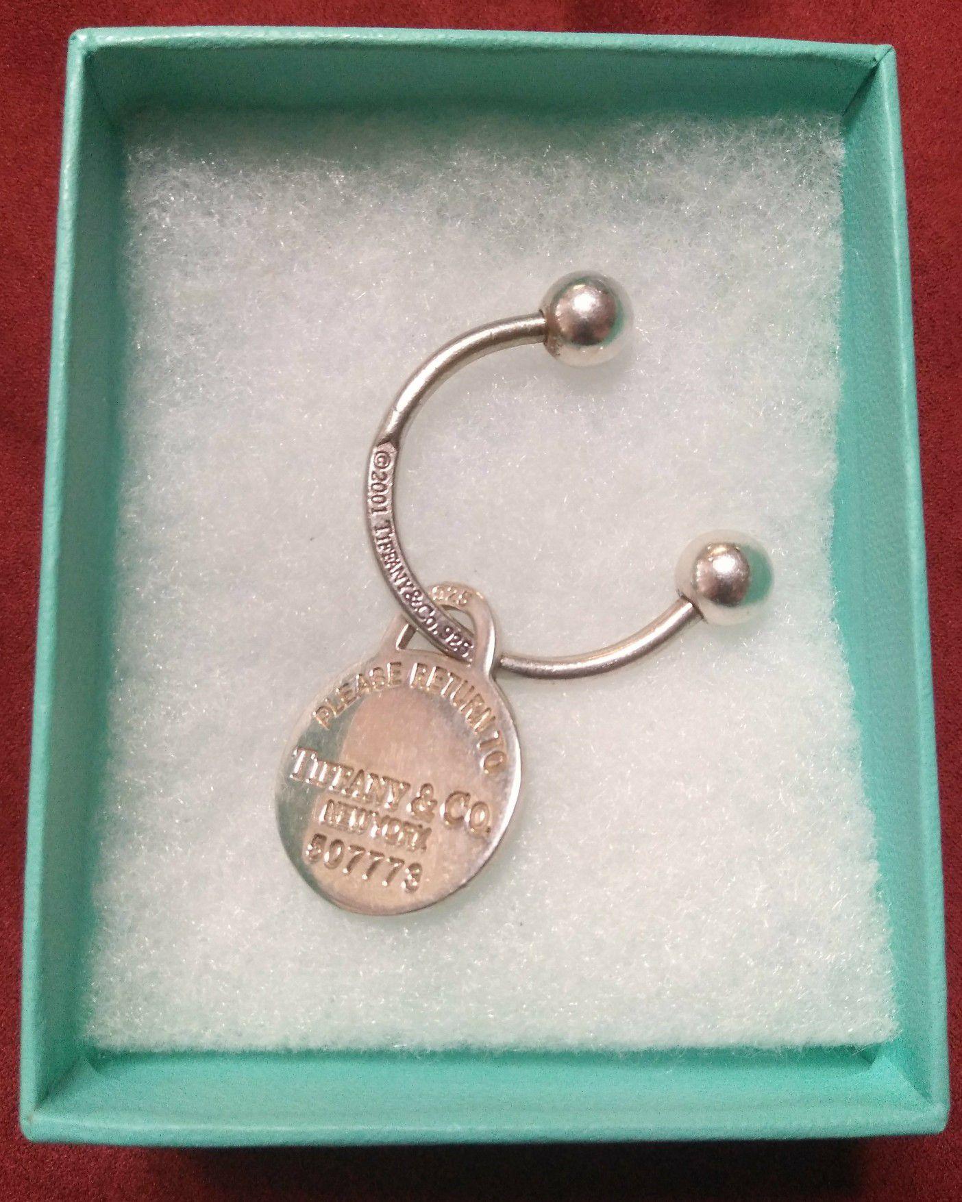 Tiffany co. Key chain Sterling silver 925