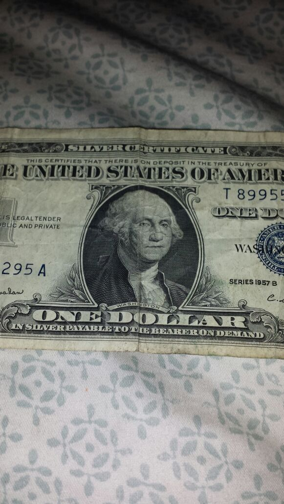 1957 Silver Certificate Dollar Bill For Sale In Lynnwood Wa Offerup
