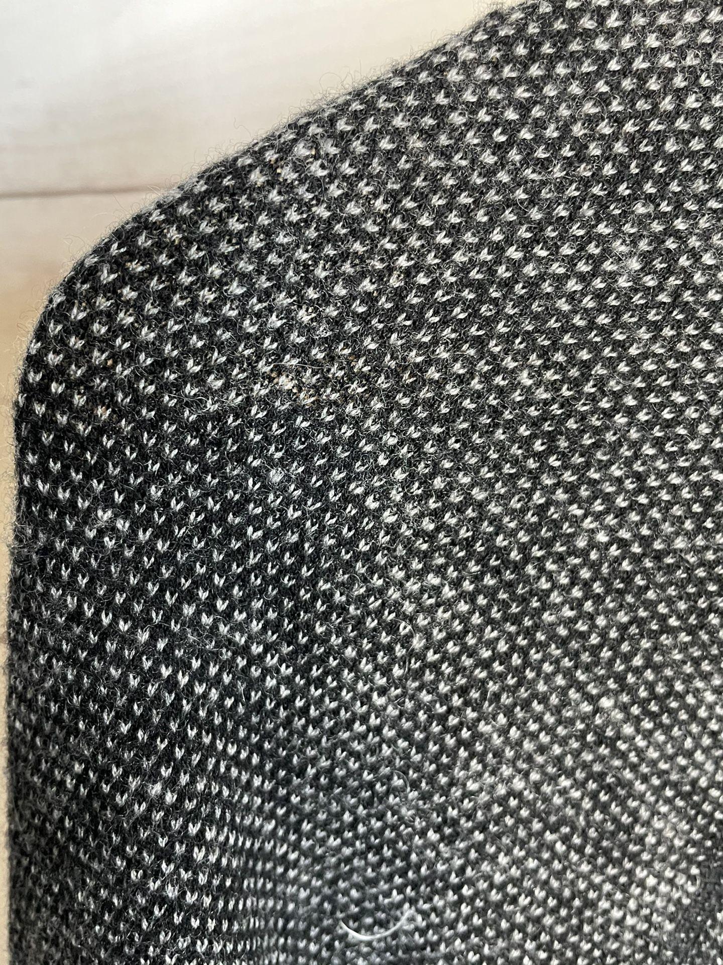Vince Mens Wool / Cashmere Black & White Crewneck Knit Sweater Medium