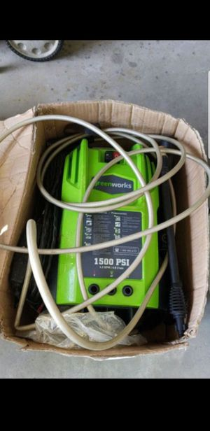 Green works pressure washer for Sale in Clermont, FL
