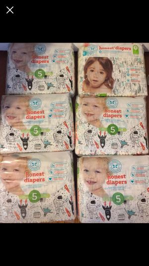 Honest Diapers Size 5 for Sale in Washington, DC