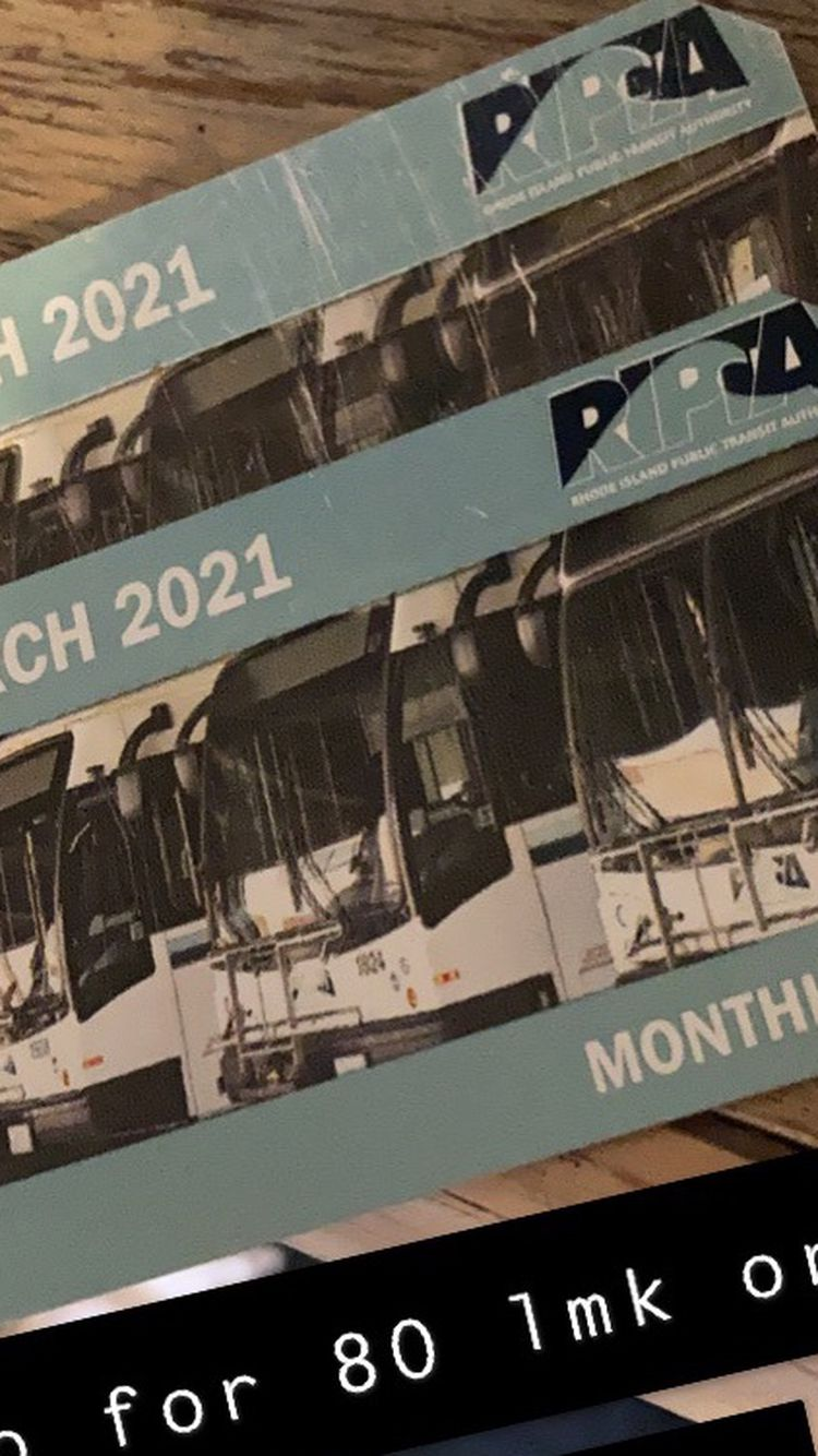 Monthly Bus pass