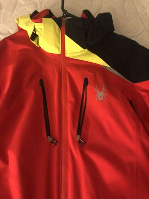 Spyder jacket size xl fits like L worn once ! for Sale in Bethesda, MD