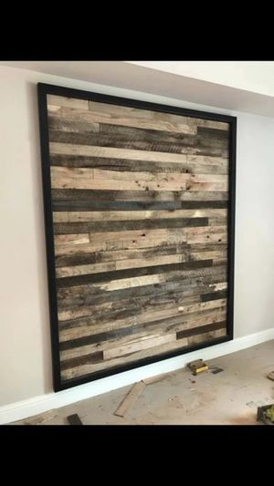 Houston Tx Reclaimed Wood Wall Solid Accent Real