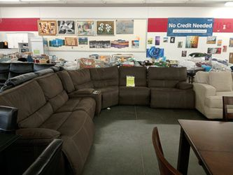 Powered Reclining Sectional Thumbnail