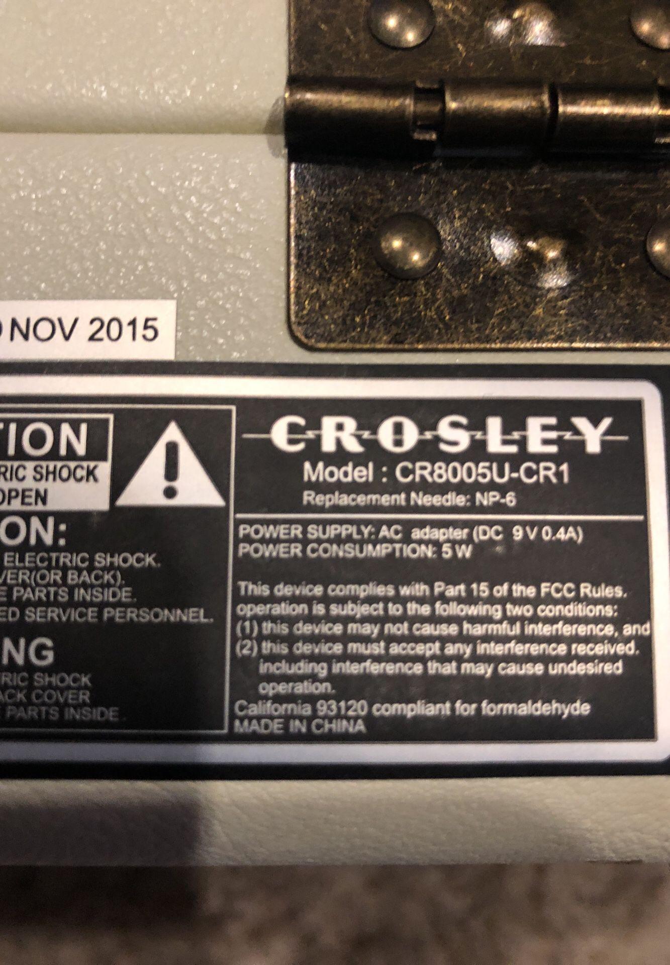 Crosley Vinyl Record Player