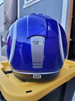Icon Motorcycle Helmet Size XS Thumbnail