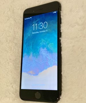 iPhone (7 Plus 32GB matte black ) (sprint,boost,ting) CLEAN IMEI AND NO ICLOUD LOCK for Sale in Rockville, MD