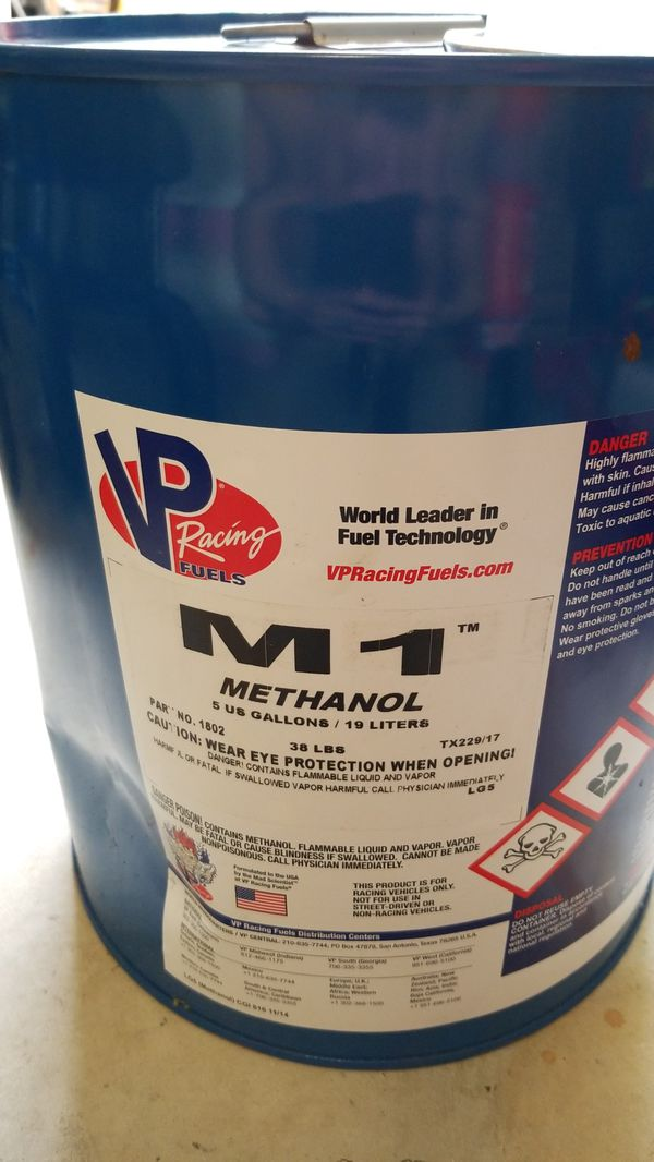 VP Racing Fuel M1 Methonal 5 Gallon for Sale in Miami, FL - OfferUp